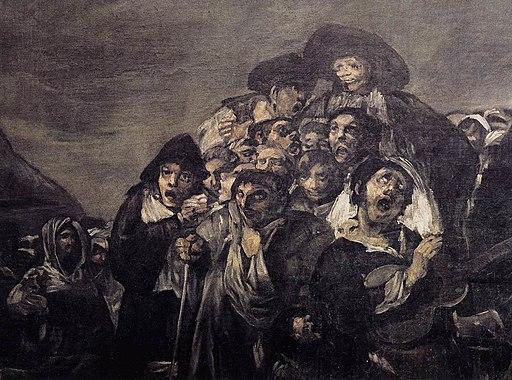 Francisco de Goya y Lucientes - A Pilgrimage to San Isidro (detail) - WGA10111