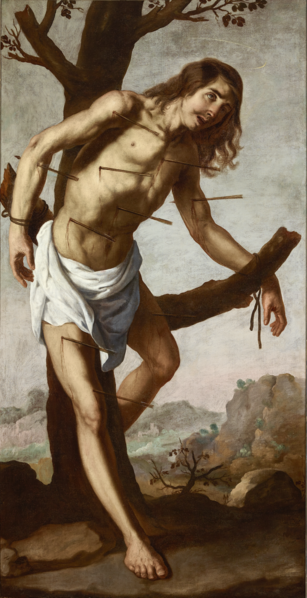 File:Francisco de Zurbarán, The Martyrdom of Saint Sebastian.png