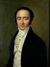 Franz Xaver Wolfgang Mozart (Gemälde von Karl Gottlieb Schweikart, Lemberg, um 1825) (Quelle: Wikimedia)