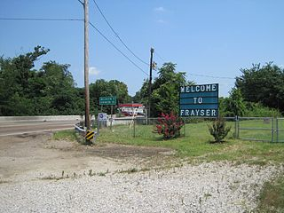 Frayser, Memphis human settlement in United States of America