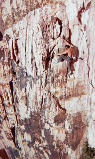 Free solo climbing - Image: Free solo