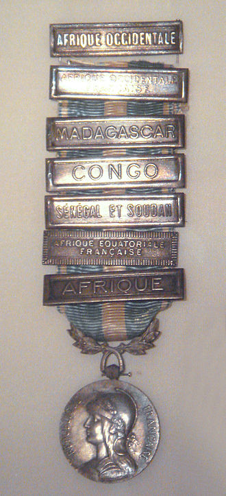 Colonial Medal - Image: French Medaille Coloniale