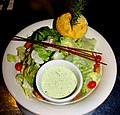 Freshly Tossed Salad with Cucumber Dressing (8434889038).jpg