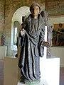 Fresnoy-la-Rivière (60), chapelle Saint-Marcoul de Vattier-Voisin, statue de saint Marcoul, XVIe s..JPG