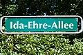 Friedhof Hamburg-Ohlsdorf.Ida-Ehre-Allee.Schild.ajb.jpg