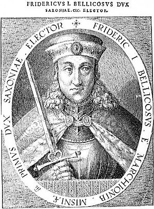 Saxon Fratricidal War - Frederick I, Elector of Saxony, father of the two warring brothers