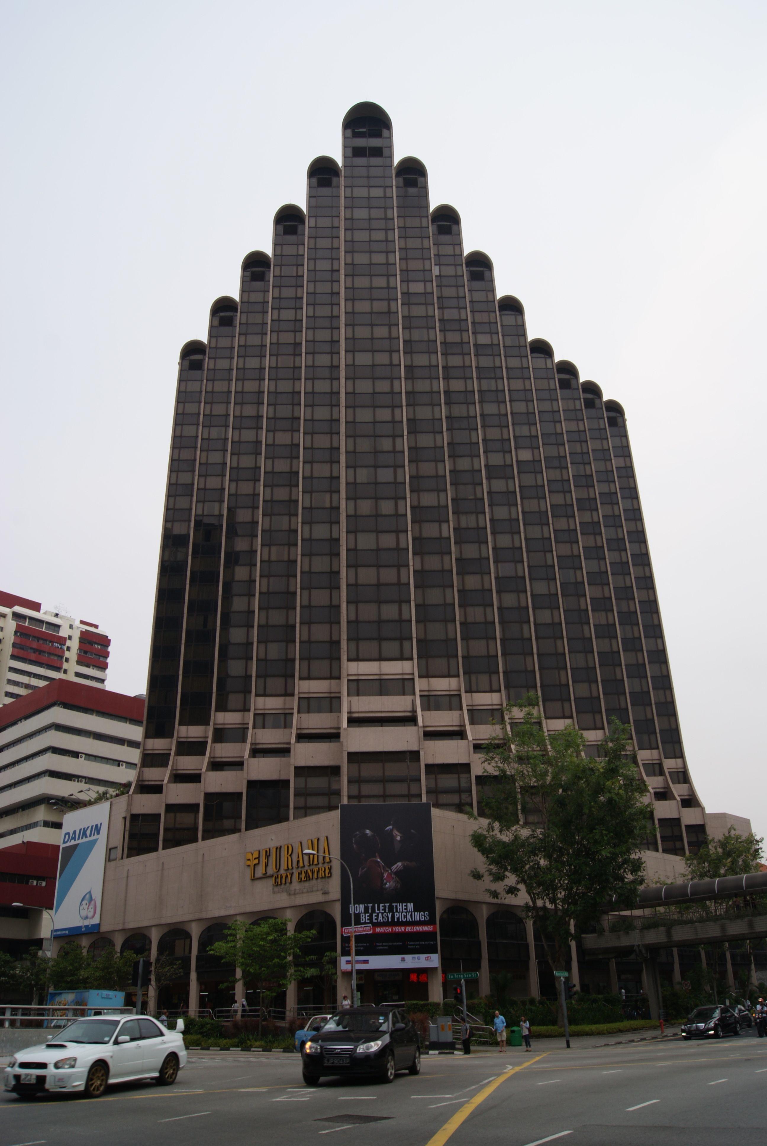 Furama City Centre Car Park Entrance