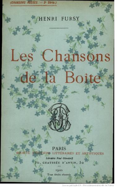 File:Fursy - Les Chansons de la boîte, 1902.djvu