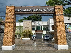Pandi, Bulacan - Municipal hall of Pandi, entrance arch