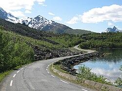 holmbuktura kart Fylkesvei 293 (Troms) – Wikipedia holmbuktura kart