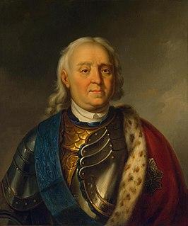 Fyodor Apraksin 17th/18th-century Russian admiral