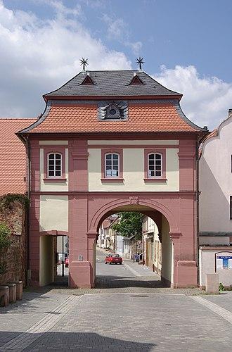 Göllheim - Image: Göllheim BW 2011 06 30 12 07 22