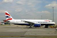 G-EUYV - A320 - British Airways