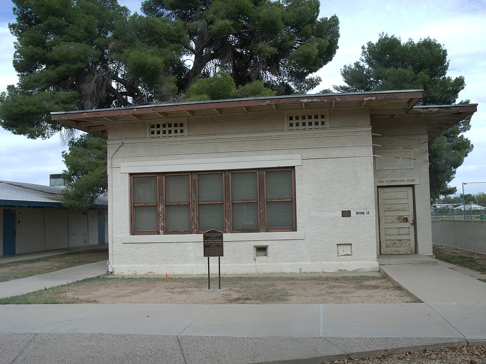 G-Glendale Grammar School One-room Class Building