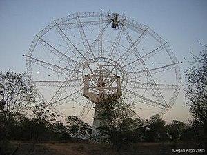 Narayangaon - Giant Metrewave Radio Telescope (GMRT) near Narayangaon