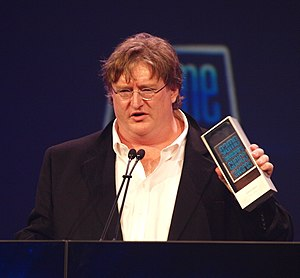 Gabe Newell - Newell at the 2010 Game Developers Conference
