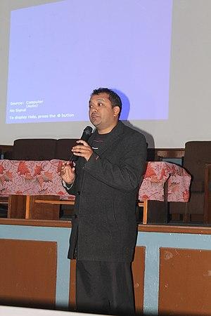 Gagan Thapa - Gagan Thapa at Open Data Day 2014