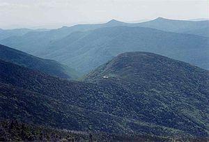 Galehead Mountain - Galehead Mountain and AMC Galehead Hut