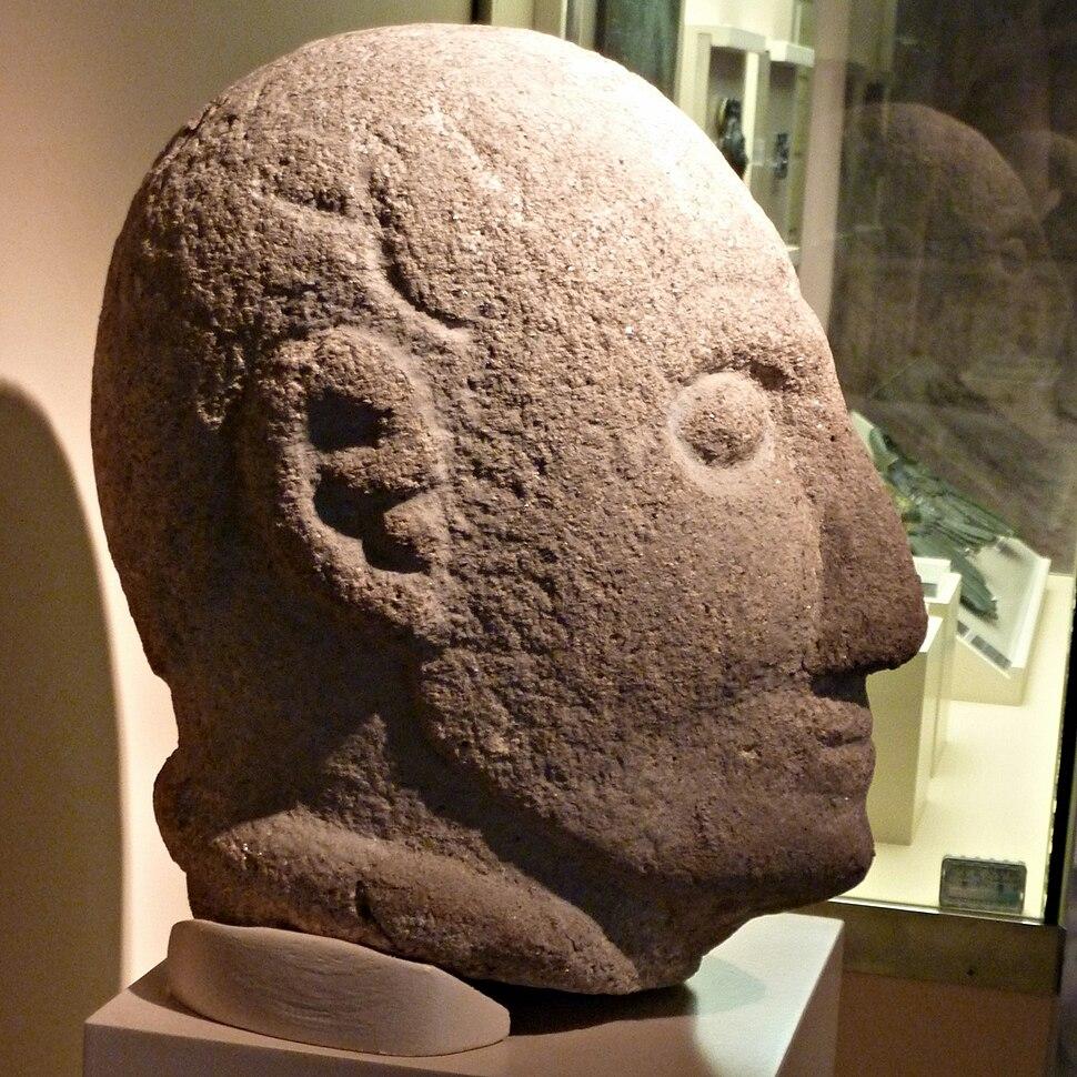 Galician warrior head