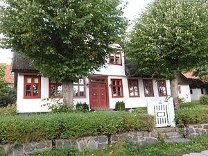Bondebyen - Støvlet-Katrine's house, Gammel Lundtoftevej 31.