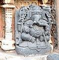 Ganesha Statue, Hoysaleswara Temple Halebid.jpg