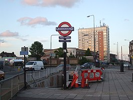 Gants Hill stn southwest entrance.JPG