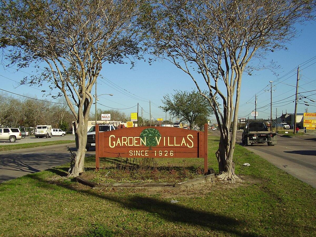 garden villas houston wikipedia - Houston Garden