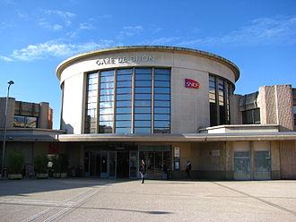 Gare de Dijon-Ville - Dijon railway station