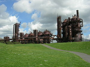 Wallingford, Seattle - Gas Works Park