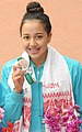 Gaurika Singh at the 12th South Asian Games-2016, in Guwahati.jpg