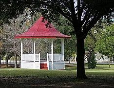 Gazebo In Sam Houston Park Texas