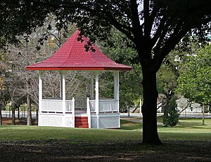 Gazebo - Image: Gazebo in Sam Houston Park Houston