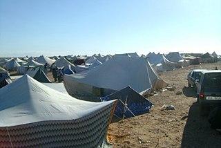 Gdeim Izik protest camp protest camp in Western Sahara