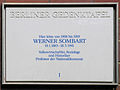 Gedenktafel Suarezstr 27 Werner Friedrich Wilhelm Carl Sombart.JPG
