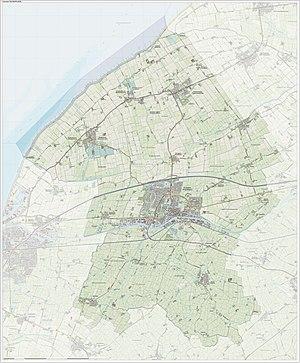 Franekeradeel - Image: Gem Franekeradeel Open Topo