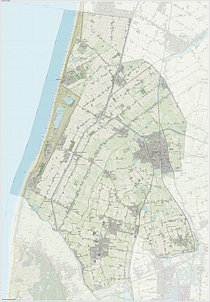 Schagen - Dutch Topographic map of Schagen, June 2015