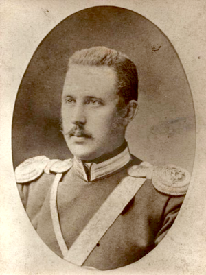 3rd Silesian Uhlan Regiment - Colonel Zygmunt Łempicki, first commandant of the regiment, wearing the Imperial Russian Army uniform