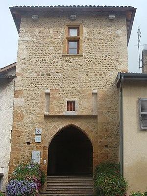Porte du fortin de Rancé.