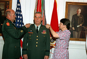 John R. D'Araujo Jr. - D'Araujo being promoted to brigadier general.