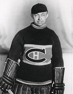 George Hainsworth Canadian ice hockey player
