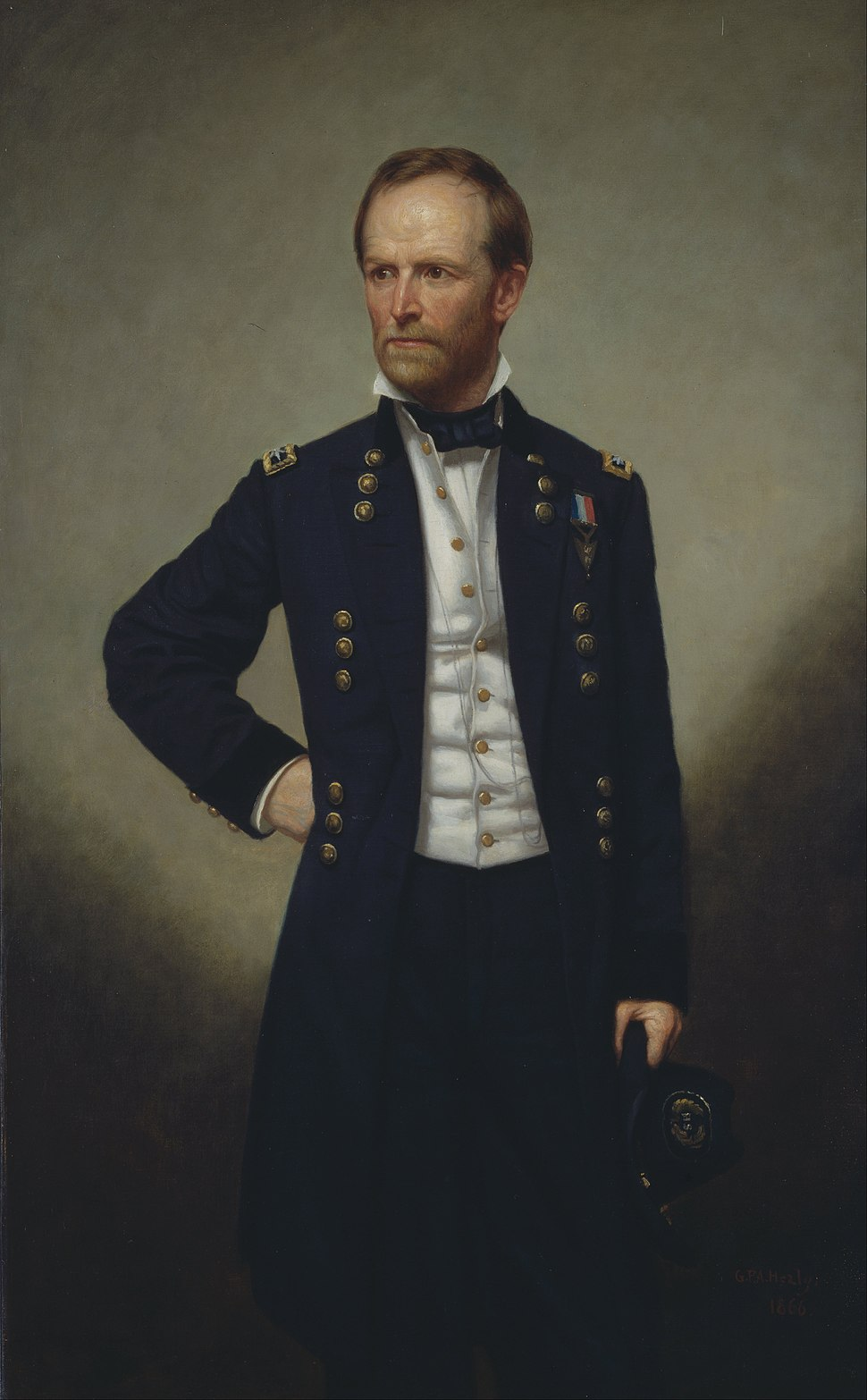 George Peter Alexander Healy - William T. Sherman - Google Art Project