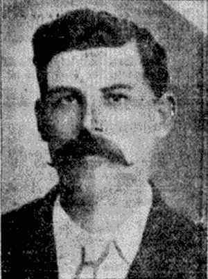 George S. Armstrong - George Armstrong as pictured in a 1907 newspaper