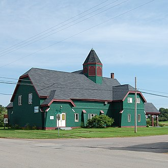 Monarchy in Prince Edward Island - Image: Georgetown PE Kings County Playhouse