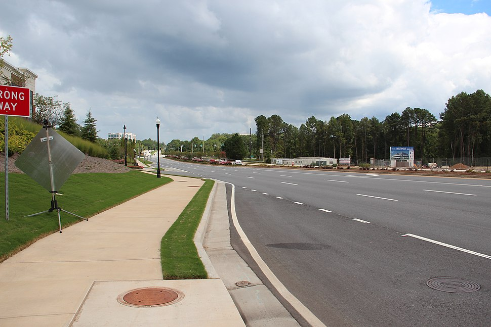 Georgia State Route 120, Alpharetta, Georgia
