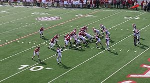 2014 Arkansas Razorbacks football team - The opening Arkansas drive