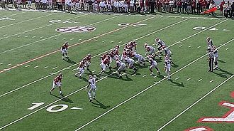2014 Arkansas Razorbacks football team - The opening Arkansas drive