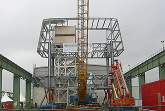 Neumayer-Station III - Structure section