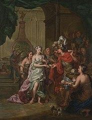 Het huwelijk van Alexander de Grote met Roxane, prinses van Bactrië