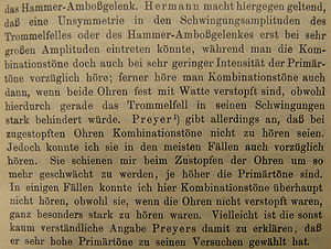 Sentence spacing - Image: German text example Em sentence spaced 1907