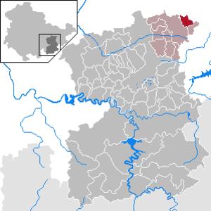 Geroda, Thuringia - Image: Geroda in SOK